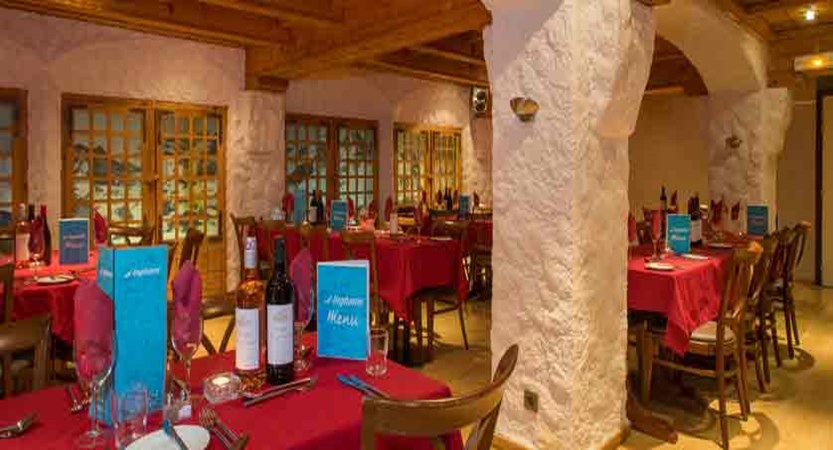 Chalet Hotel Les Anemones - Restaurant