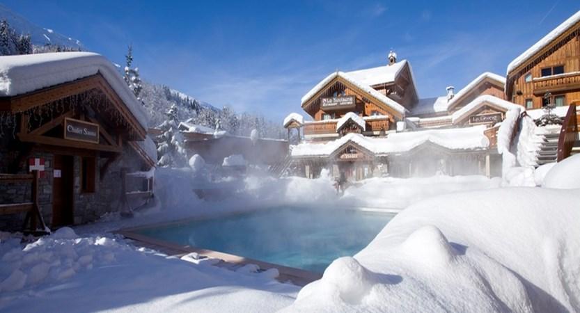 Hotel L'Eterlou pool exterior