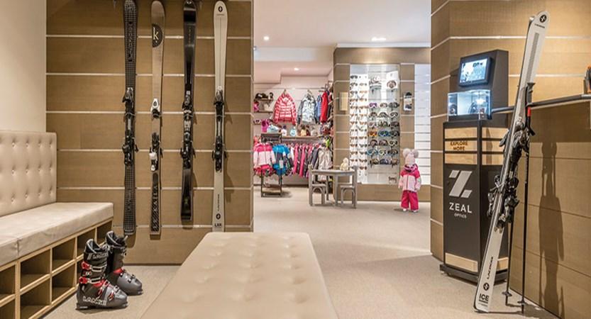 Hotel Le Kaila - Ski shop