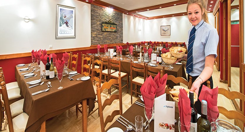 Chalet Hotel Les Grangettes - Dining room