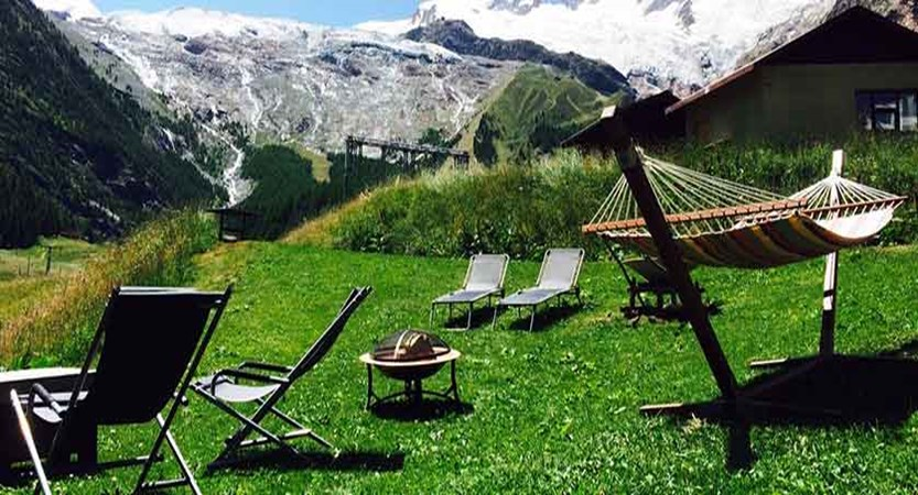 Hotel Bristol, Saas-Fee, Switzerland - garden with glacier views.jpg