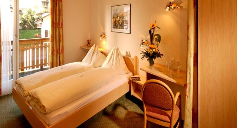 Hotel Park, Saas-Fee, Switzerland - Double bedroom with balcony.jpg