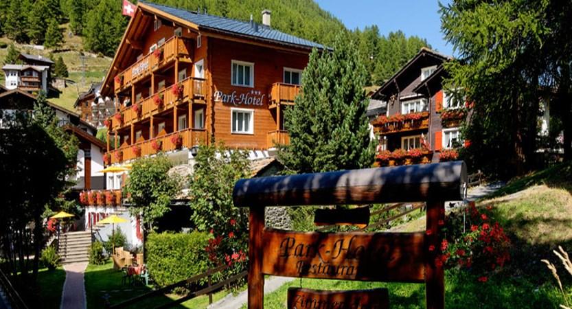 Hotel Park, Saas-Fee, Switzerland - Exterior in summer.jpg