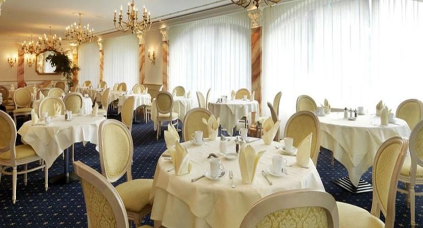 Hotel Schweizerhof Gourmet & Spa,Saas-Fee, Switzerland -  dining room interior.jpg