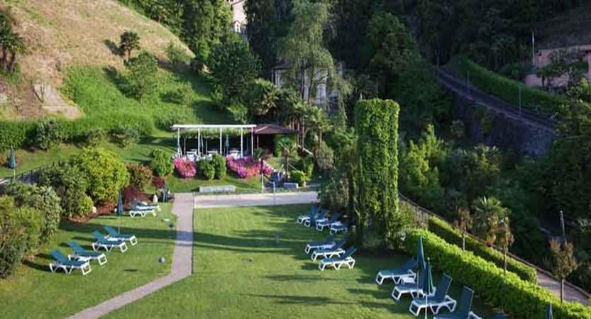 Hotel Belvedere, Locarno, Ticino, Switzerland - garden.jpg