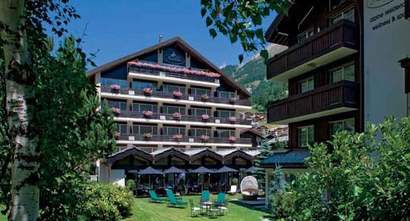 Hotel Mirabeau, Zermatt, Switzerland - exterior and garden.jpg