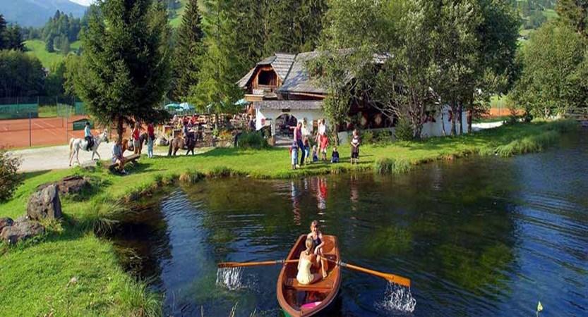 Hotel Trattlerhof, Rowing on Millstätter Lake.jpg