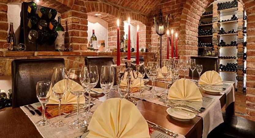 Hotel Pulverer, Bad Kleinkirchheim, Austria - wine cellar dining.jpg