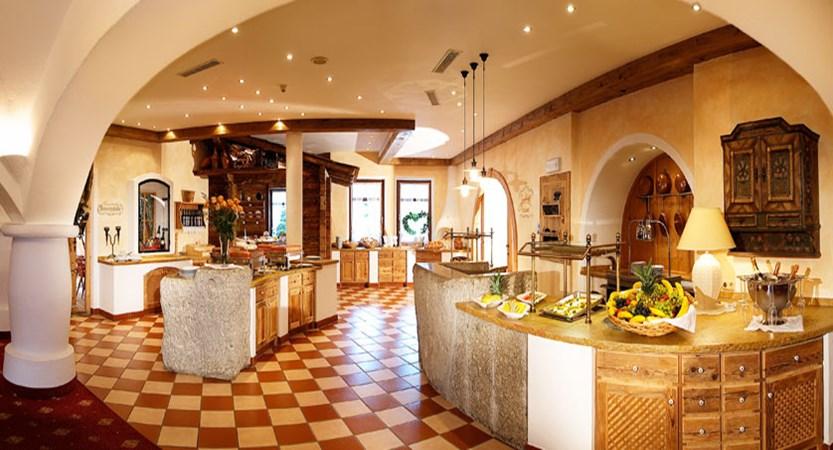 Sporthotel Ellmau, Ellmau, Austria - Restaurant and buffet.jpg