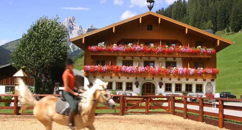 Hotel Hammerhof, Filzmoos, Austria - exterior in summer.jpg