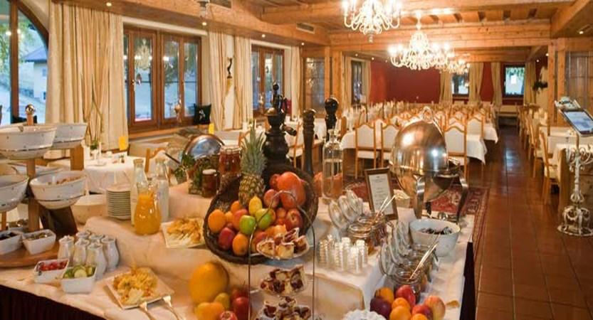 Hotel Unterhof, Filzmoos, Austria - Dining room buffet.jpg