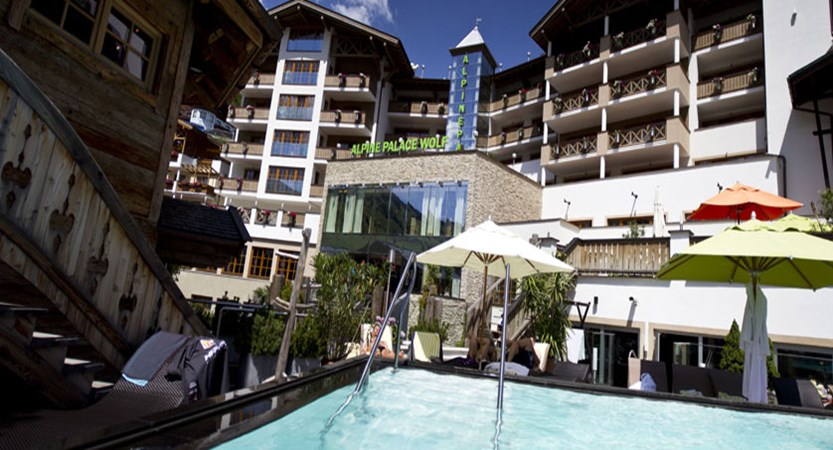 Hotel Alpine Palace, Hinterglemm, Austria - Exterior & outdoor pool.jpg
