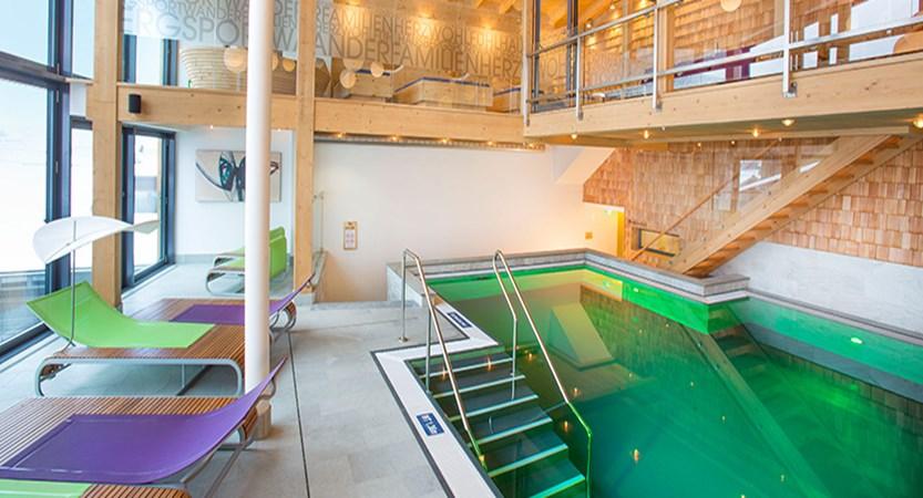 Hotel-Garni Silvester, Hinterglemm, Austria - Indoor pool area.jpg