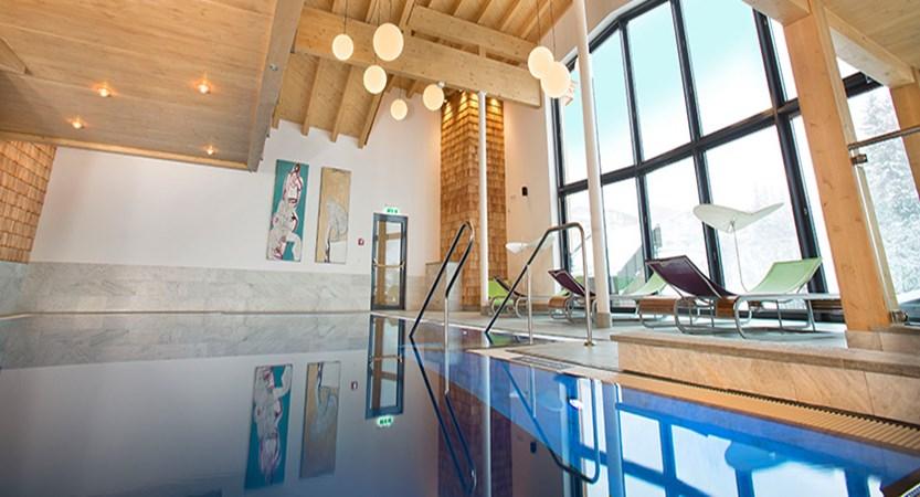 Hotel-Garni Silvester, Hinterglemm, Austria - Indoor pool.jpg