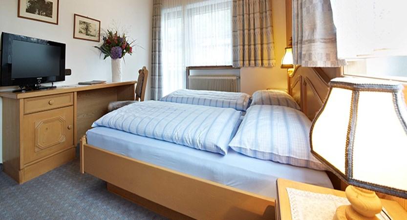 Hotel-Garni Silvester, Hinterglemm, Austria - twin bedroom.jpg