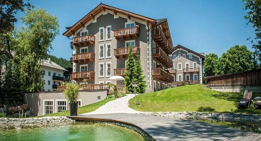 Q Resort Health & Spa, Kitzbühel, Austria - exterior in summer.jpg