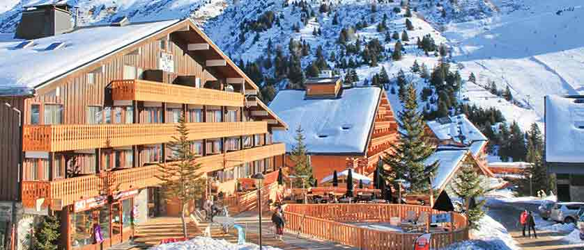 Hotel Le Mottaret - exterior
