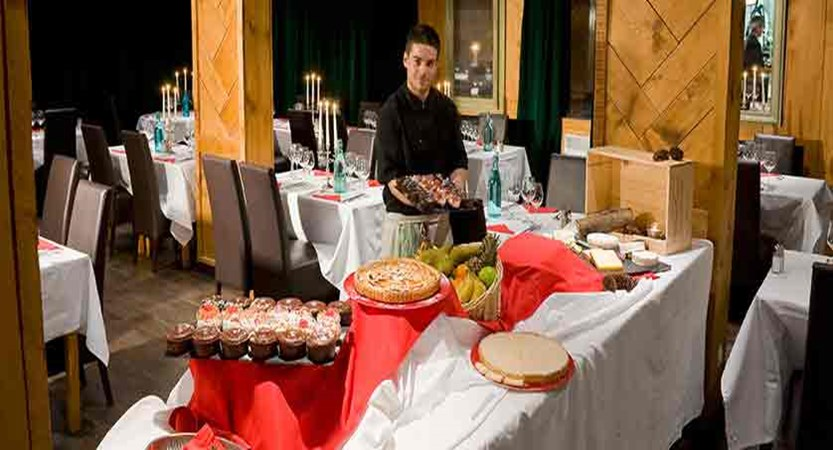 Hotel Le Mottaret - restaurant buffet