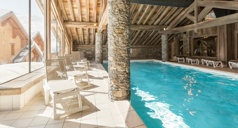 Residence les alpages de reberty - indoor pool