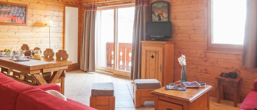 Residence les alpages de reberty - living area
