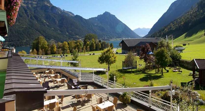 Hotel Das Pfandler, Pertisau, Lake Achensee, Austria - Exterior with view of lake.jpg
