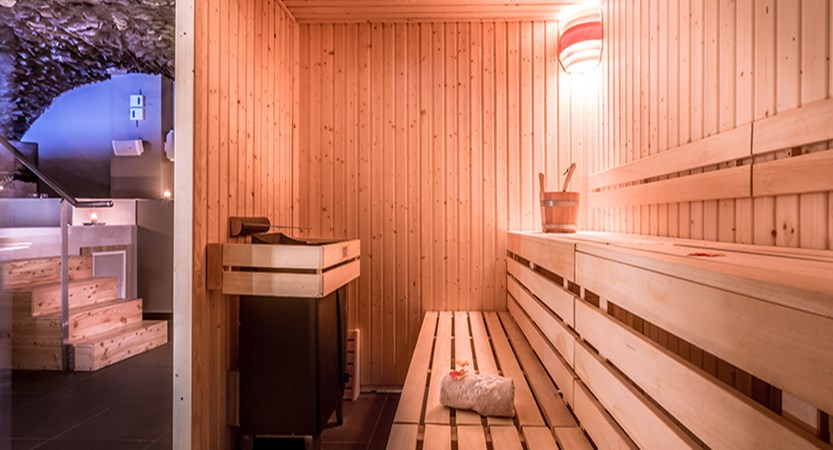 Grand Aigle hotel sauna