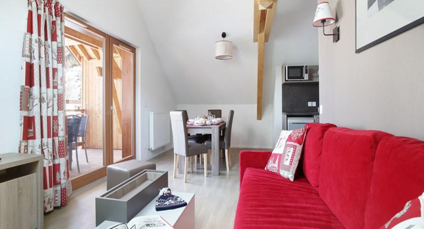 Residence Aquisana lounge area