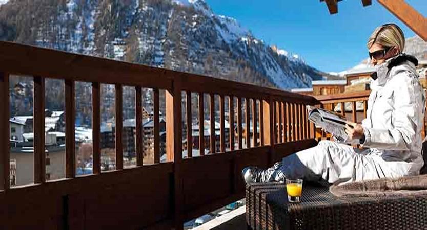 Le Savoie - Penthouse view