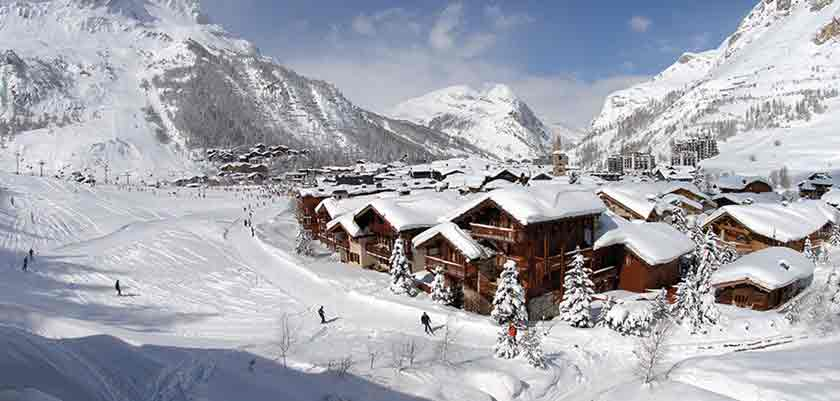 Mountain view of Val d'Isere