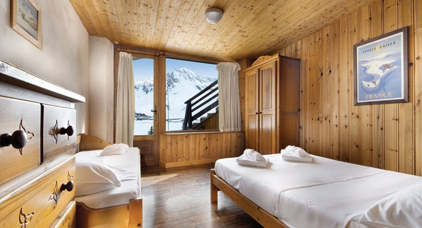 Chalet Chardonnet bedroom