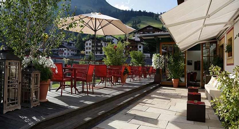 Hotel Austria, Lech, Austria - Sun terrace.jpg