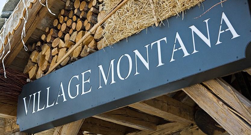 Village montana apartments entrance