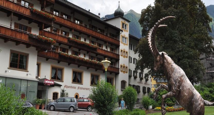 Alpenhotel Kramerwirt, Mayrhofen, Austria - front of the hotel Exterior.jpg