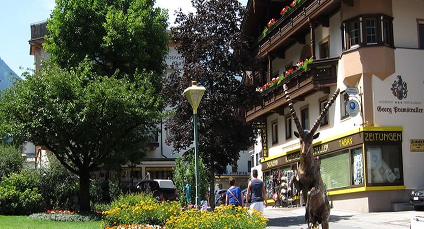 Garni Pramstraller, Mayrhofen, Austria -  exterior from the street.jpg