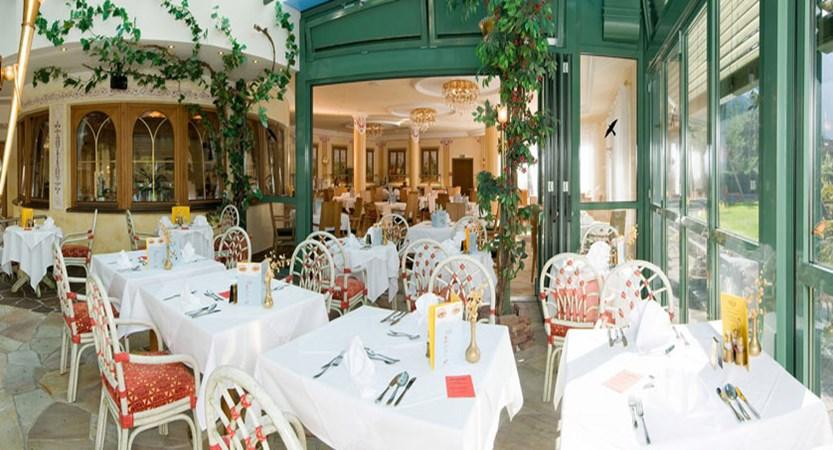 Hotel Garni Strass, Mayrhofen, Austria - Conservatory dining room.jpg