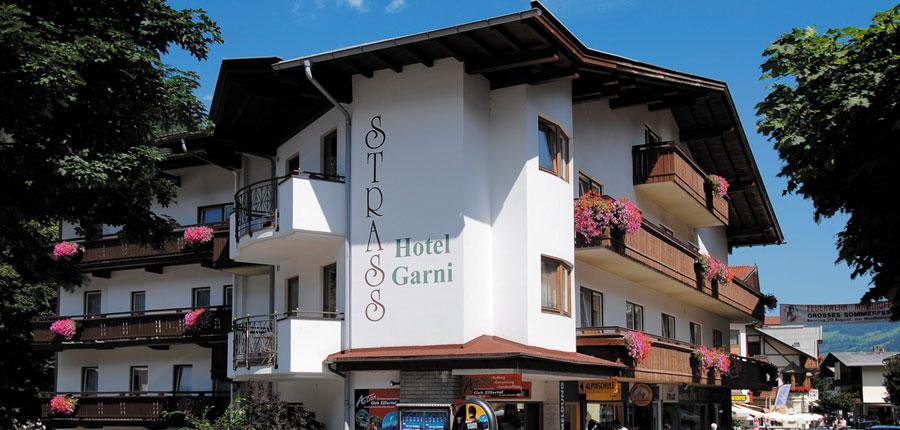 Hotel Garni Strass, Mayrhofen, Austria - Exterior from the street.jpg