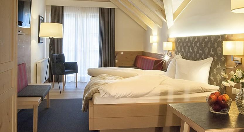 Hotel Neuhaus, Mayrhofen, Austria - Bedroom.jpg