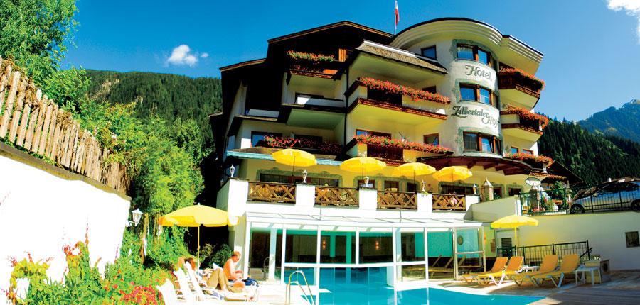 Hotel Zillertalerhof, Mayrhofen, Austria - Exterior & pool.jpg