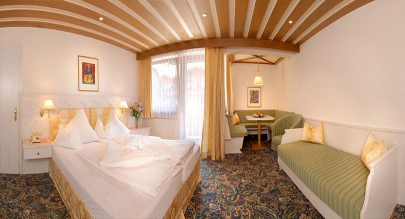 Sporthotel Strass, Mayrhofen, Austria - Bedroom interior.jpg