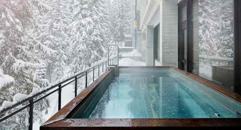 Terminal Neige - Outdoor jacuzzi