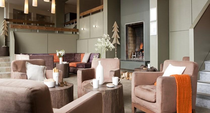 Residence de la foret - lounge area