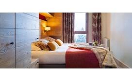 Montsoleil Terrasses d'Helios Apartments, Bedroom