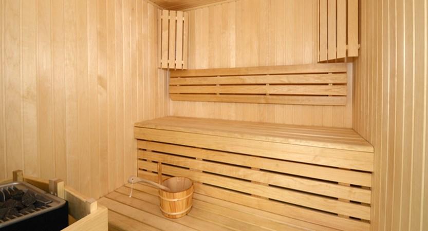 Panoramic apartments sauna