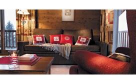 Les Alpages de Chantel Apartments, Apartment living area