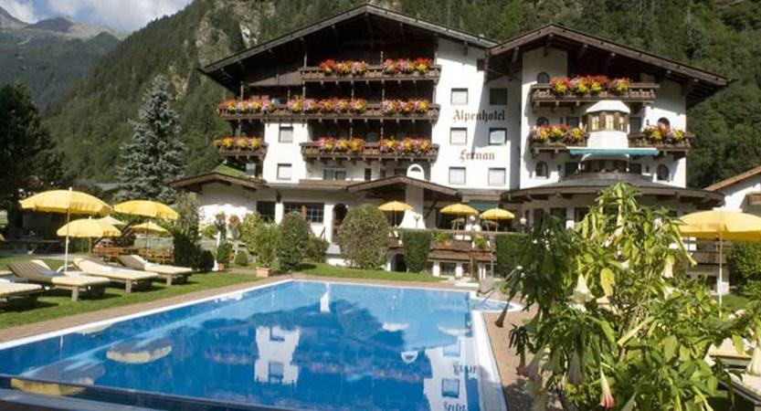 Fernau Alpenhotel, Neustift, Austria - new exterior with swimming pool.jpg