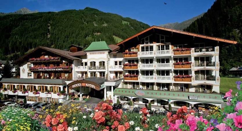 Alpenhotel Kindl, Neustift, Austria - Exterior in summer.jpg