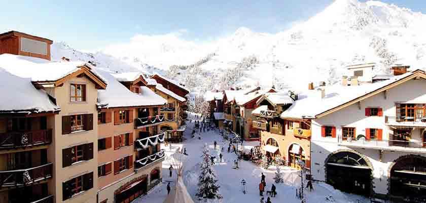 Les Arcs, Paradiski ski area