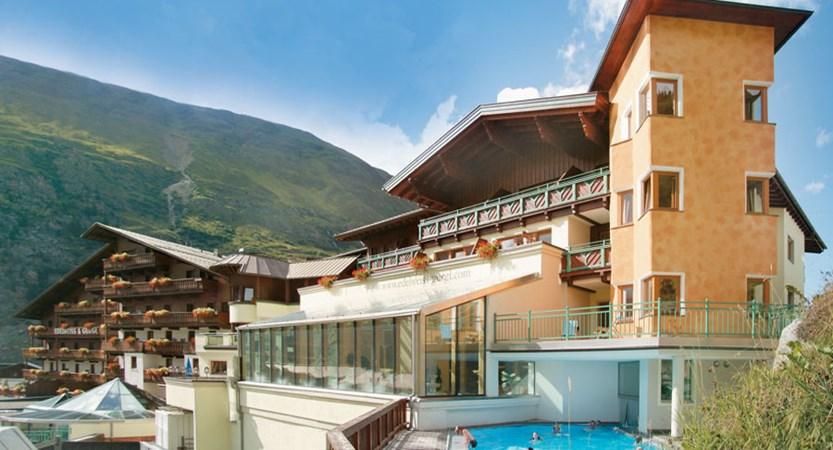 Hotel Edelweiss & Gurgl, Obergurgl, Austria - exterior with outdoor pool.jpg