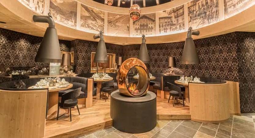 Hotel Edelweiss & Gurgl, Obergurgl, Austria - fondue room interior.jpg