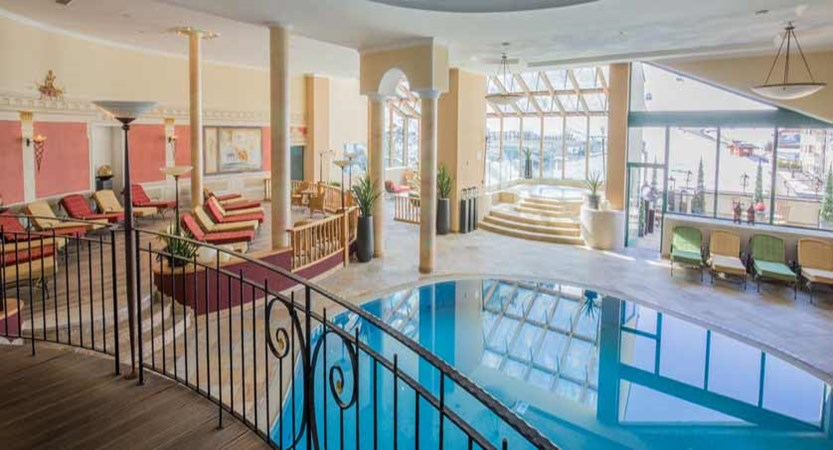 Hotel Edelweiss & Gurgl, Obergurgl, Austria - indoor pool with view to outside.jpg